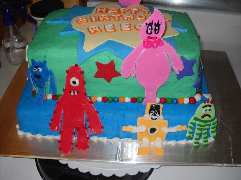 Yo gabba gabba house of cake for Decor yo pops