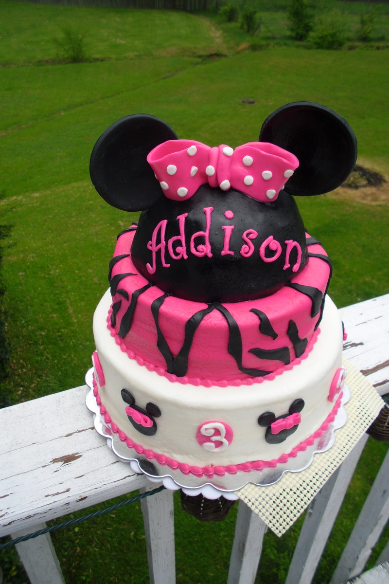Girl Mickey Cake